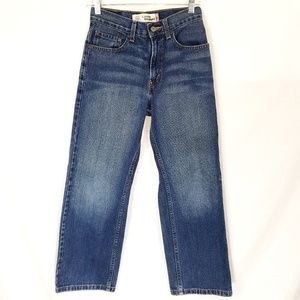 Boys Levi's 569 Loose Straight Jeans Size 14 Slim